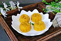 #秋天怎么吃#南瓜月饼~无需烤箱的做法