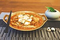 泡菜五花肉豆腐汤的做法