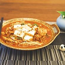 泡菜五花肉豆腐汤