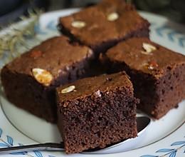 美式经典布朗尼蛋糕,口感扎实味道浓郁,简单0技巧,谁做谁成功的做法