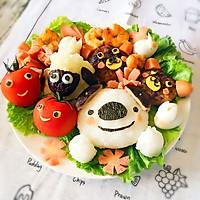 六一儿童餐-小熊肉饼的做法图解9