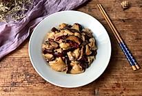 冬菇红枣蒸鸡的做法