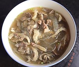 牛杂粉丝汤的做法