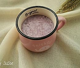 【减肥果蔬汁】蓝莓山药汁的做法