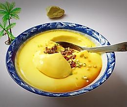 鲜嫩爽滑—腊肉水蒸蛋的做法