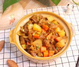 简单快手的黑椒土豆肥牛饭的做法