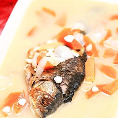 牛奶木瓜炖鱼
