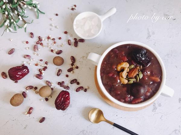 腊八粥 红枣桂圆养生五谷粥 简单快手早餐暖心粥的做法