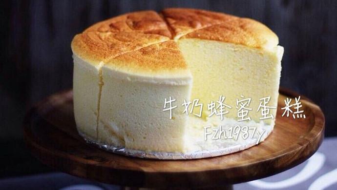 牛奶蜂蜜蛋糕~小清新口感