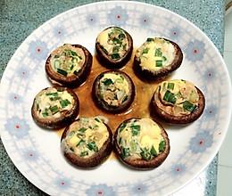 鹌鹑蛋蒸鲜蘑菇的做法