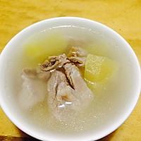 苹果排骨汤--冷风中的浪漫奇遇的做法图解1