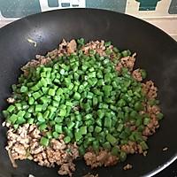 #相聚组个局#榄菜肉末四季豆的做法图解5