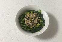 蚝油西兰花蘑菇的做法