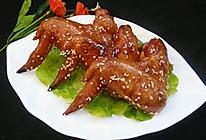 蜜汁烤鸡翅(微波炉版)的做法
