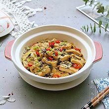 #秋天怎么吃# 雪菜豆腐煲