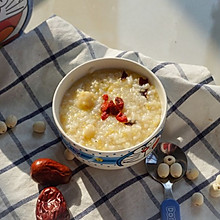 莲子小米粥