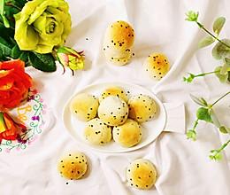 #换着花样吃早餐#麻薯包的做法