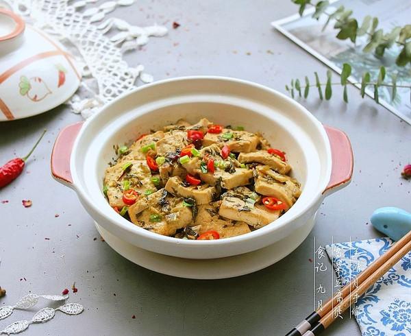 雪菜豆腐煲的做法