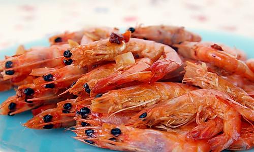 香辣虾干的做法