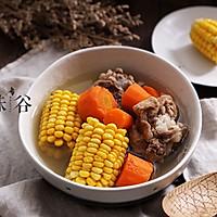 胡萝卜玉米筒骨汤的做法图解4