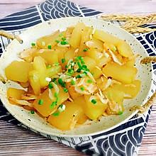 蚝油虾皮炒冬瓜#就是红烧吃不腻!#