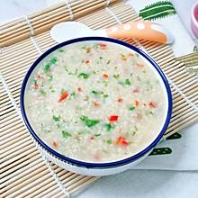 10M+山药小米蔬菜粥:宝宝辅食营养食谱菜谱