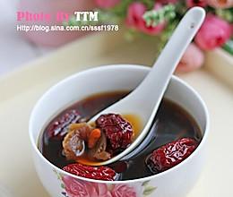 红枣桂圆枸杞红糖水的做法