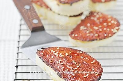 腐乳脆烤馒头片