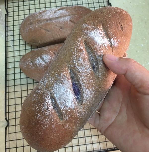 全麦麻薯欧包的做法的做法