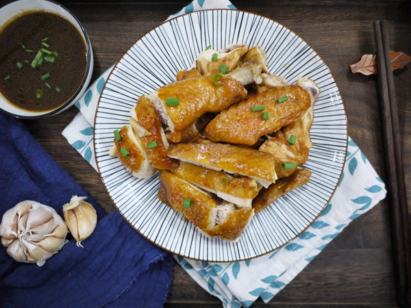 广东豉油鸡的做法