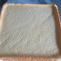 奶油肉松蛋糕卷的做法图解13