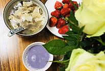 #换着花样吃早餐#紫薯豆浆➕小馄饨的做法