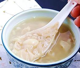 白果腐竹薏米糖水的做法