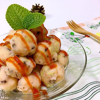 白菜木耳虾丸