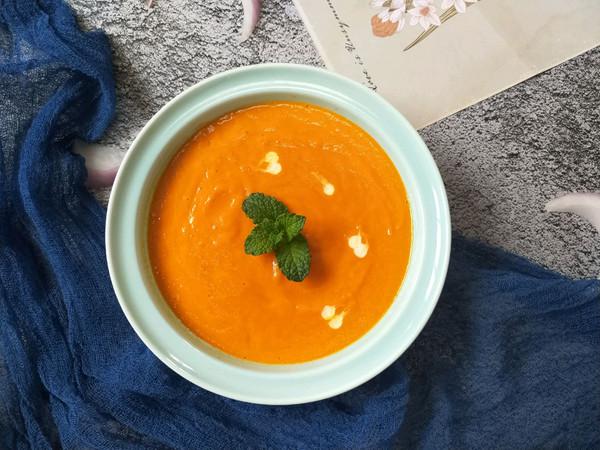 营养又健康-南瓜胡萝卜浓汤的做法