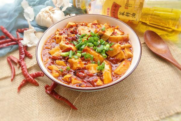 麻婆豆腐#金龙鱼外婆乡小榨菜籽油 最强家乡菜#的做法
