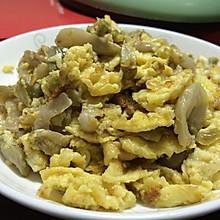 榨菜炒鸡蛋---别名榨菜芝士炒鸡蛋