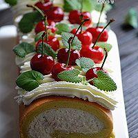 樱桃蛋糕卷的做法图解24