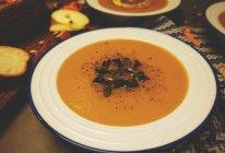 三种口味的南瓜汤【安卡西厨】的做法