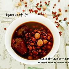 美容养颜红豆黑米粥
