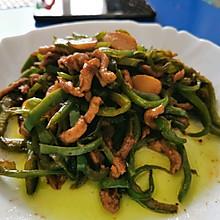青椒肉丝—快手家常菜