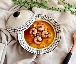 #我们约饭吧#虾仁炖鸡蛋的做法
