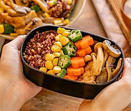 和风蘑菇饭|营养美味的做法