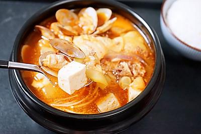 暖身心的辣白菜大酱汤