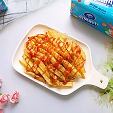 #厨房有维达洁净超省心#炸薯条