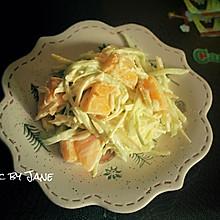 明太子青芒沙拉#爽口凉菜,开胃一夏!#