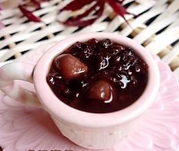 紫米花生粥的做法
