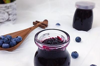 #舌尖上的端午#蓝莓酱