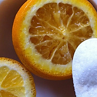 「止咳咸橙」小孩止咳秘方的做法图解2