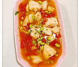 #美食新势力##麦子厨房#美食锅之茄汁巴沙鱼柳汤♨的做法